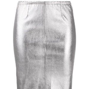 Zadig & Voltaire Jaden metallic pencil skirt